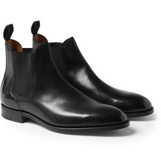John Lobb Leather Chelsea Boots
