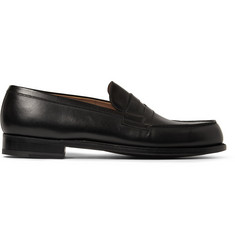 J.M. Weston 180 The Mocassin Leather Loafers