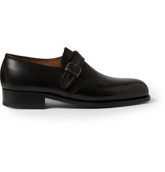 J.M. Weston 531 Leather Monk Strap Shoes
