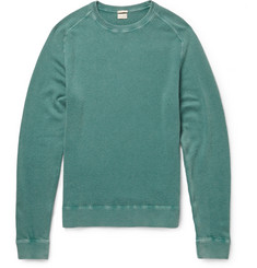 Massimo Alba Garment-Dyed 1 Ply Cashmere Sweater