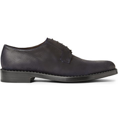 Jimmy Choo Alaric Waxed-Suede Derby Shoes