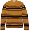 Loewe - Striped Chunky-Knit Cotton-Blend Sweater