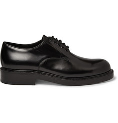Loewe Polished-Leather Derby Shoes