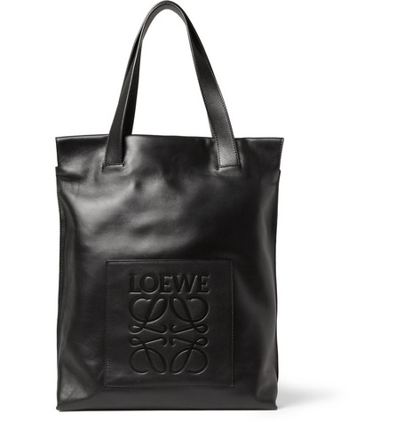 Loewe Leather Tote Bag