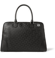 Loewe Amazona Embossed Leather Holdall Bag