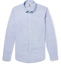 NN.07 Frede Slim-Fit Gingham-Check Cotton Shirt