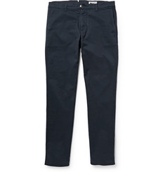 NN.07 Paulo Slim-Fit Garment-Dyed Stretch-Cotton Twill Chinos