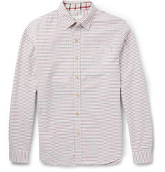 Alex Mill Tattersall Checked Cotton Shirt