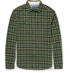 Alex Mill Checked Cotton-Flannel Shirt