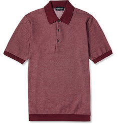 John Smedley Sea Island Cotton Polo Shirt Shirt