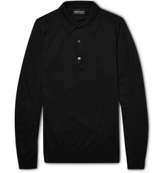 John Smedley Exeter Sea Island Cotton Polo Shirt