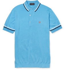 John Smedley Cambourne Fine-Knit Sea Island Cotton Polo Shirt