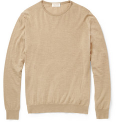 John Smedley Orton Cashmere and Silk-Blend Sweater