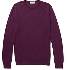 John Smedley Cashmere And Silk-Blend Sweater