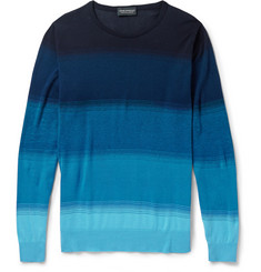 John Smedley Dégradé Cotton Sweater