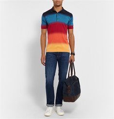 John Smedley Dégradé Cotton Polo Shirt