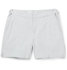Orlebar Brown Cavrin Slim-Fit Seersucker Cotton Shorts