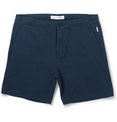 Orlebar Brown Alusky Bonded Cotton-Blend Shorts