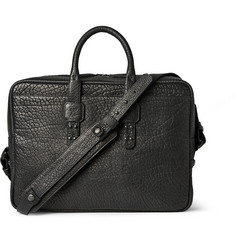 Parabellum Full-Grain Bison Leather Briefcase