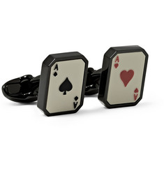 Paul Smith Shoes & Accessories Playing Card Cufflinks