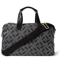 Paul Smith Shoes & Accessories Belvoir Tile-Print Canvas Holdall