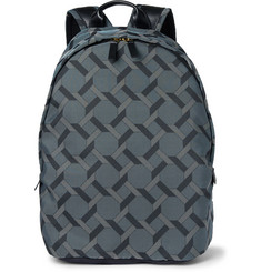 Paul Smith Shoes & Accessories Leather-Trimmed Tile-Print Backpack