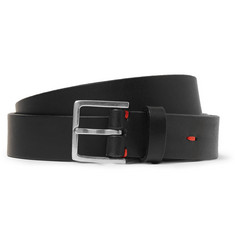 Paul Smith Shoes & Accessories Black 2.5cm Leather Belt