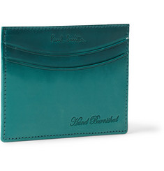 Paul Smith Shoes & Accessories Burnished Leather Cardholder