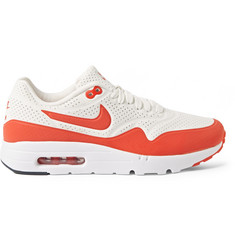 Nike Air Max 1 Ultra Moire Rubberised Faux-Leather Sneakers