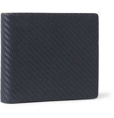 Alfred Dunhill Chassis Textured-Leather Billfold Wallet