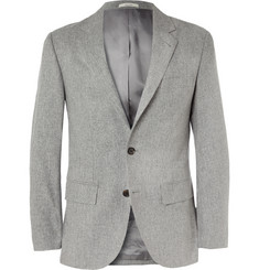 Club Monaco Grant Grey Wool-Flannel Suit Jacket