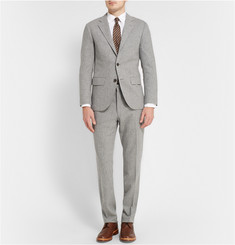 Club Monaco Grey Grant Slim-Fit Wool-Flannel Suit Jacket