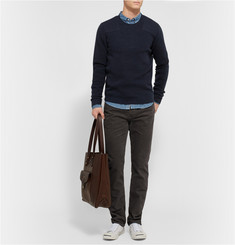 Club Monaco Ribbed Cashmere Sweater