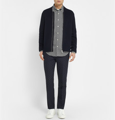 Club Monaco Slim-Fit Cotton-Flannel Shirt
