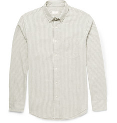 Club Monaco Slim-Fit Bengal Striped Cotton-Twill Shirt