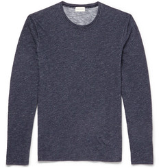 Club Monaco Slubbed Cotton Long-Sleeved T-Shirt