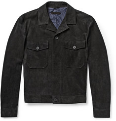 Bottega Veneta Washed-Suede Jacket