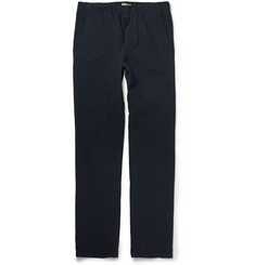 Bottega Veneta Crinkled Cotton-Blend Trousers