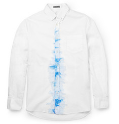 Bottega Veneta Slim-Fit Printed Cotton Shirt