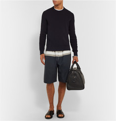 Bottega Veneta Striped Cotton Shorts