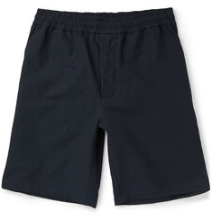Bottega Veneta Slubbed Cotton-Blend Canvas Shorts