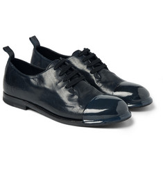 Bottega Veneta Dipped Leather Derby Shoes