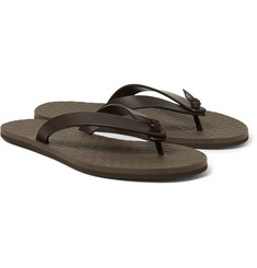 Bottega Veneta - Leather Flip Flops