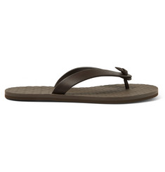 Bottega Veneta Leather Flip Flops