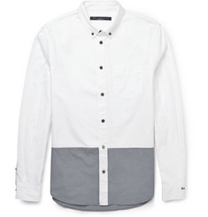 Marc by Marc Jacobs Contrast-Panelled Cotton Oxford Shirt