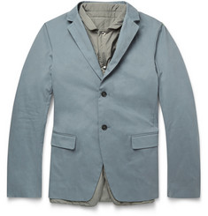 Jil Sander Empoli Gilet-Lined Cotton Jacket