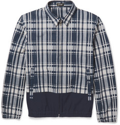 Jil Sander Esteta Check Cotton-Blend Seersucker Jacket