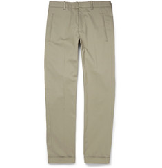 Jil Sander Adriano Slim-Fit Cotton-Blend Trousers