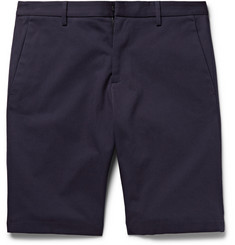 Jil Sander Alan Cotton-Blend Twill Shorts