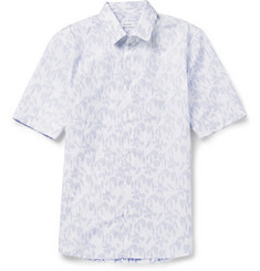Jil Sander Patterned Cotton Short-Sleeved Shirt